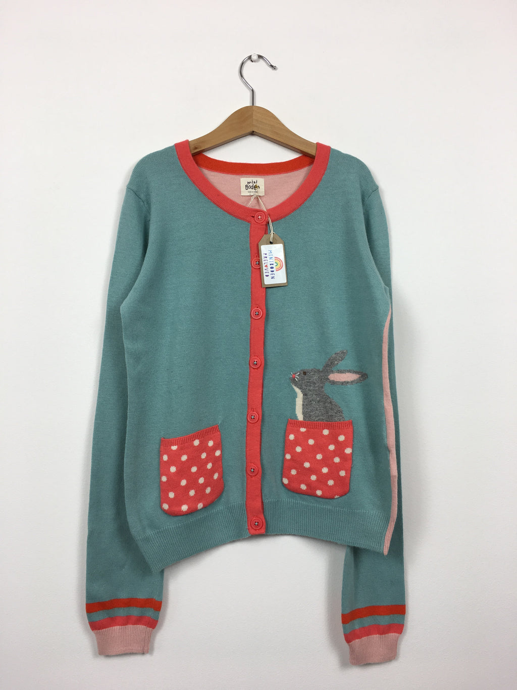 Soft Pocket Rabbit Cardigan (11-12 Years)