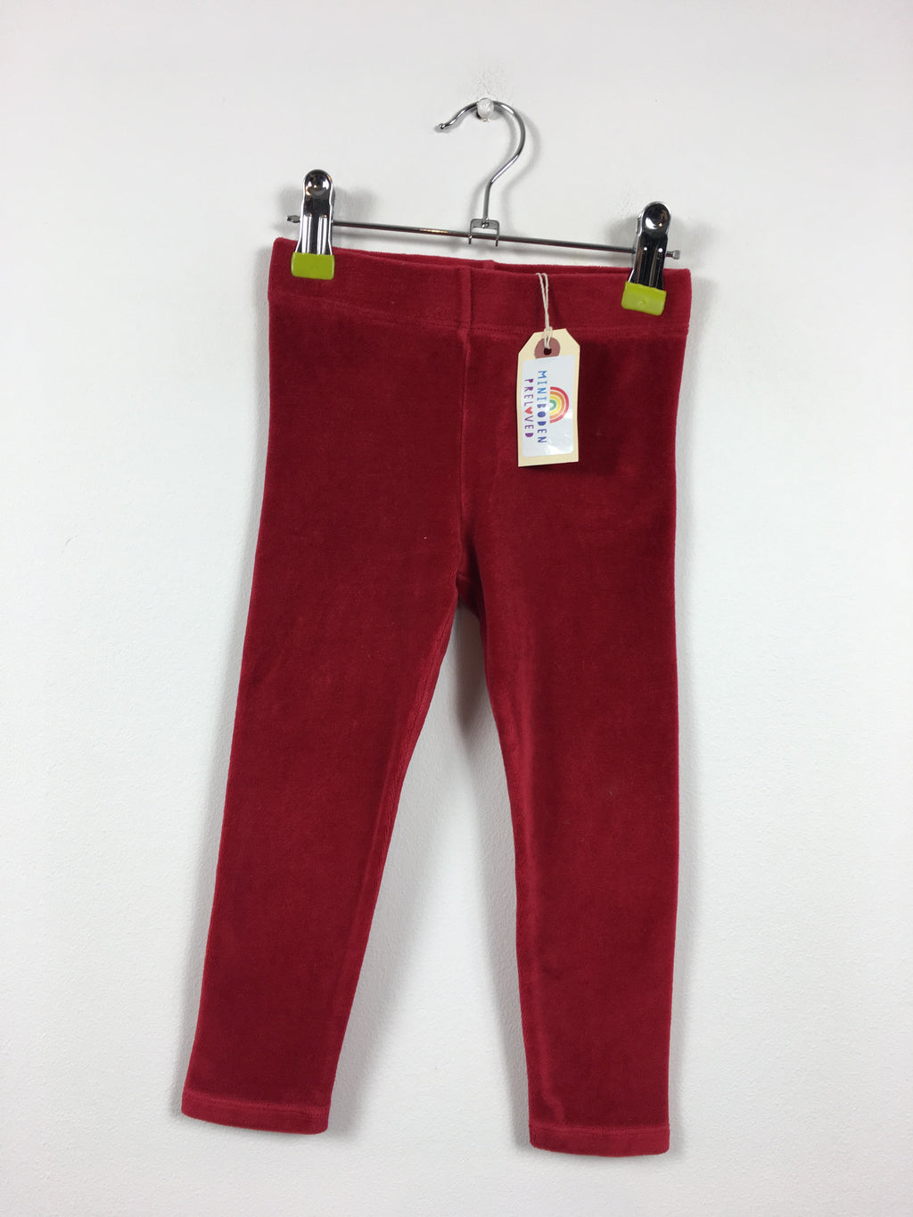 Red Velvet Party Leggings (2-3 Years)