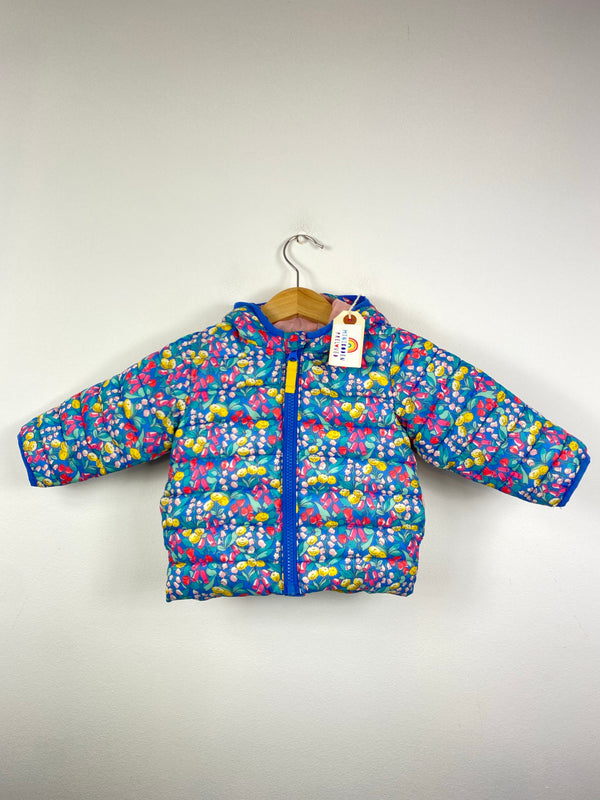 Gorgeous Wildflowers Patterned Padded Jacket (3-6 Months)