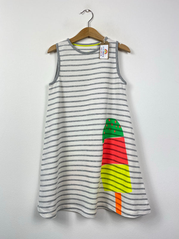 Lovely Ice Cream Design Sundress (6-7 Years)