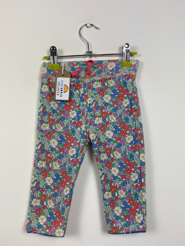 Pretty Floral Reversible Joggers (6-12 Months)