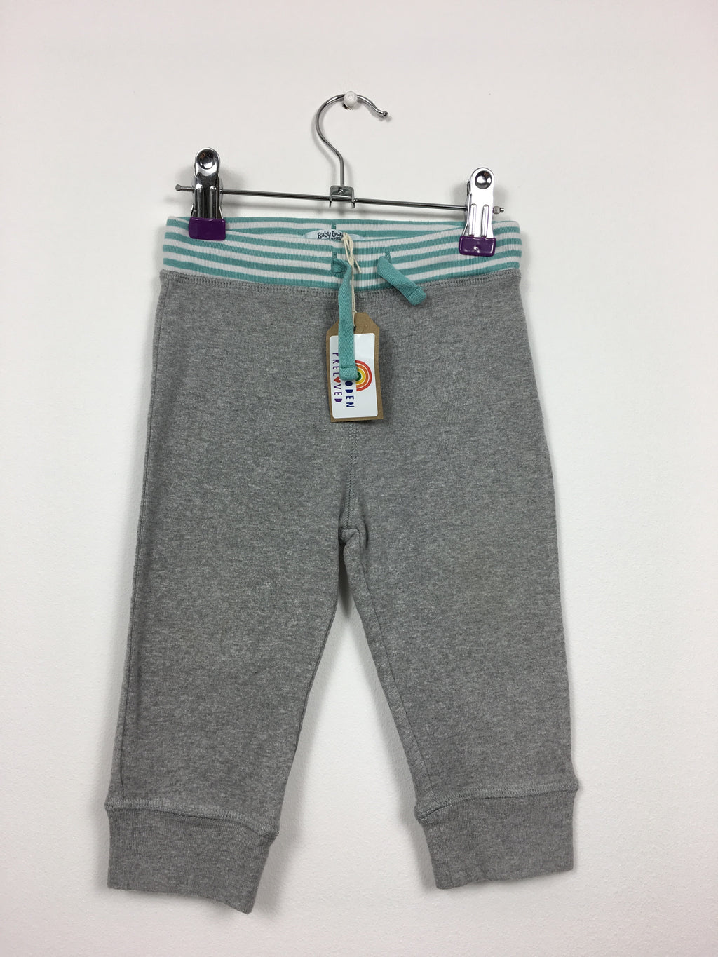 Soft Grey Joggers (12-18 Months)