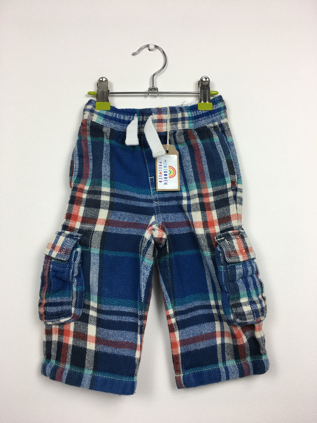 Blue& Red Tartan Baggies (12-18 Months)