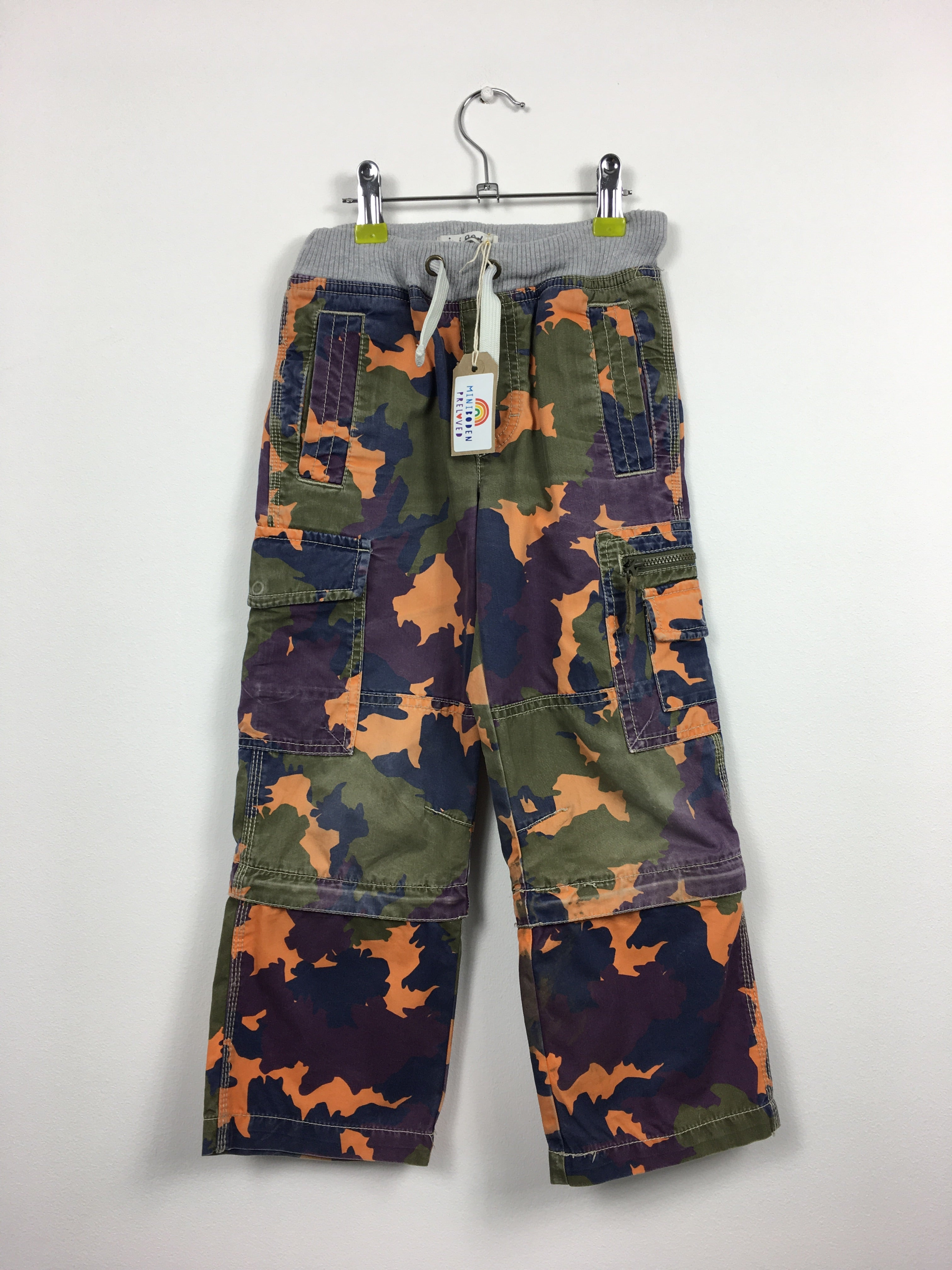 1543bff63 Mini Boden Preloved | Pull On Boys Zip Off Cargo Pants (6 Years)