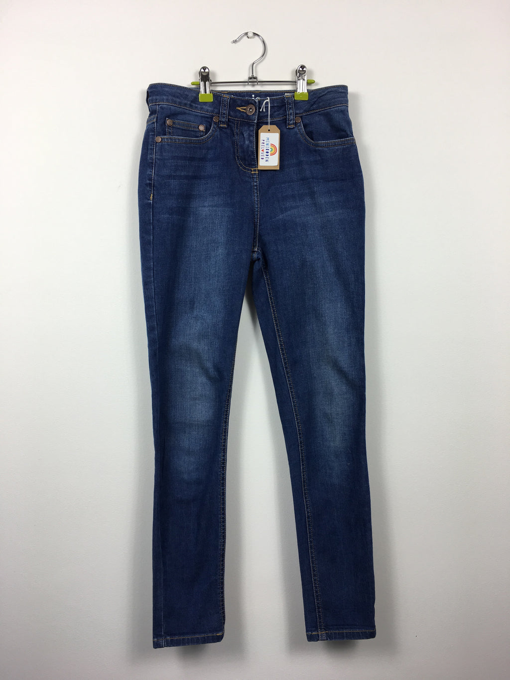 Blue Regular Fit Jeans (9-10 Years)