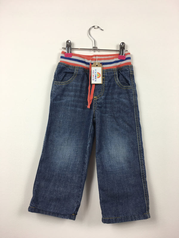 Lined Regular Fit Jeans (12-18 Months)