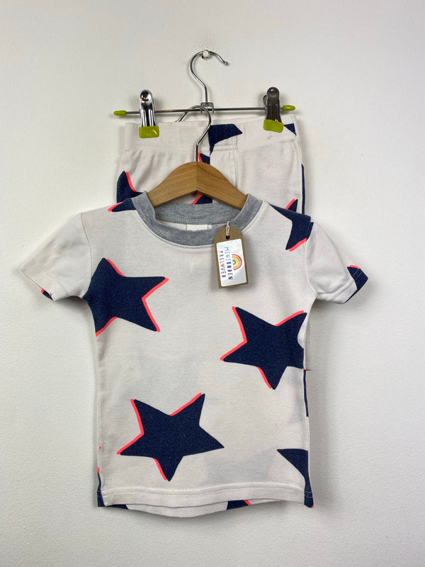 Cream Star Patterned Pjs (3 Years)