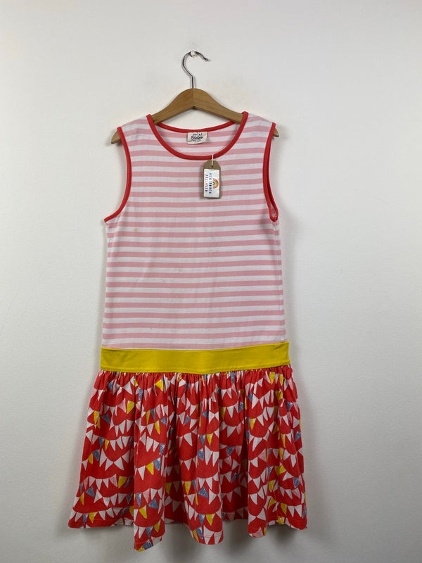 Bunting Patterned Sun Dress (11-12 Years)