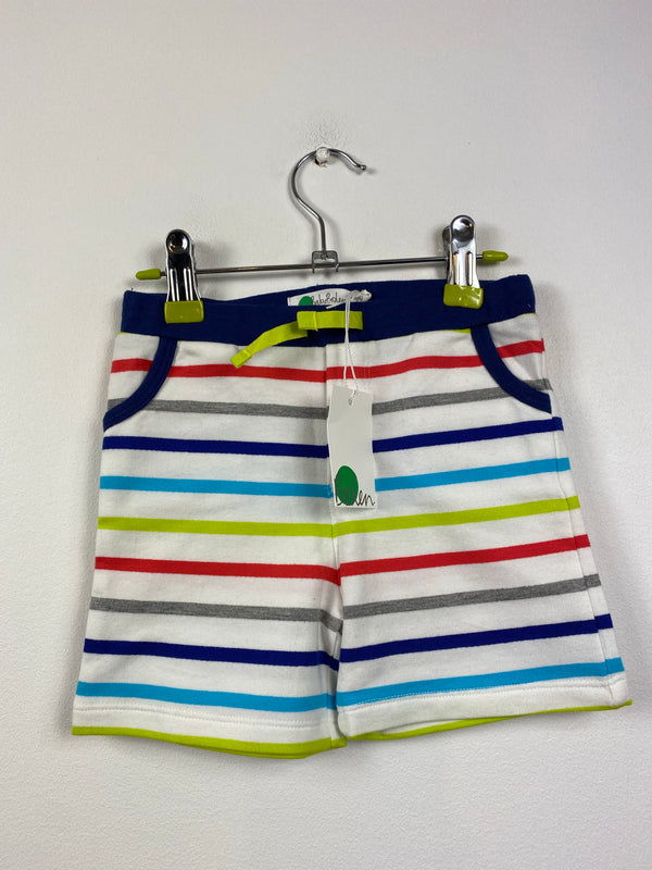 NEW Multi-Stripe Cotton Shorts (18-24 Months)