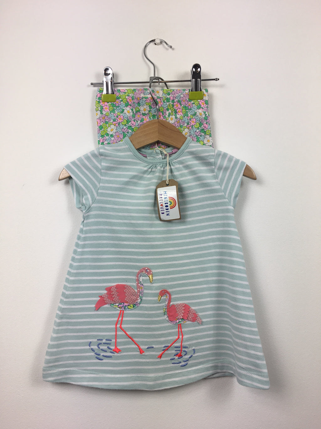 Applique Flamingo Tunic & Leggings Set (3-6 Months)