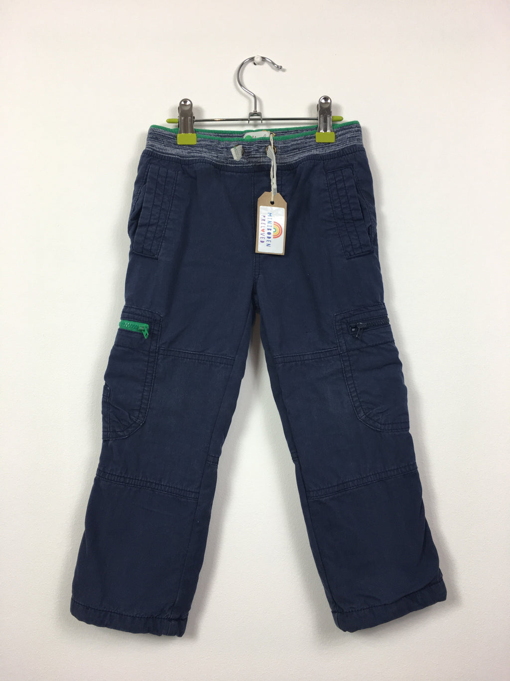 Navy Cargo Trousers (Age 3)