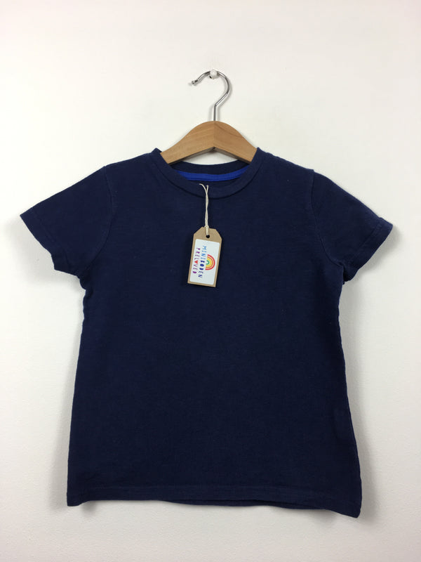 Plain Navy T-Shirt (3-4 Years)