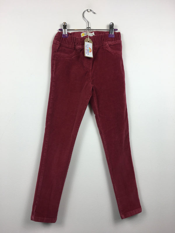 Raspberry Cord Skinny Trousers (5 Years)