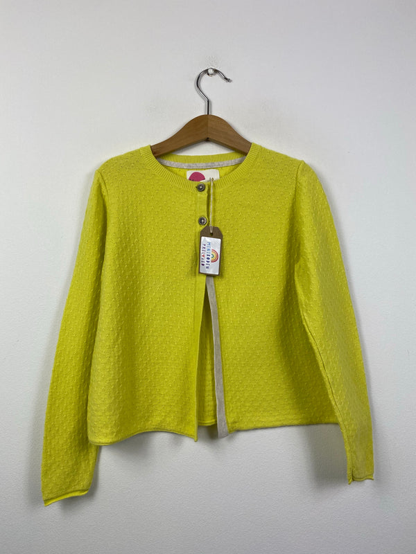 Canary Yellow Occasion Cardigan (6-7 Years)
