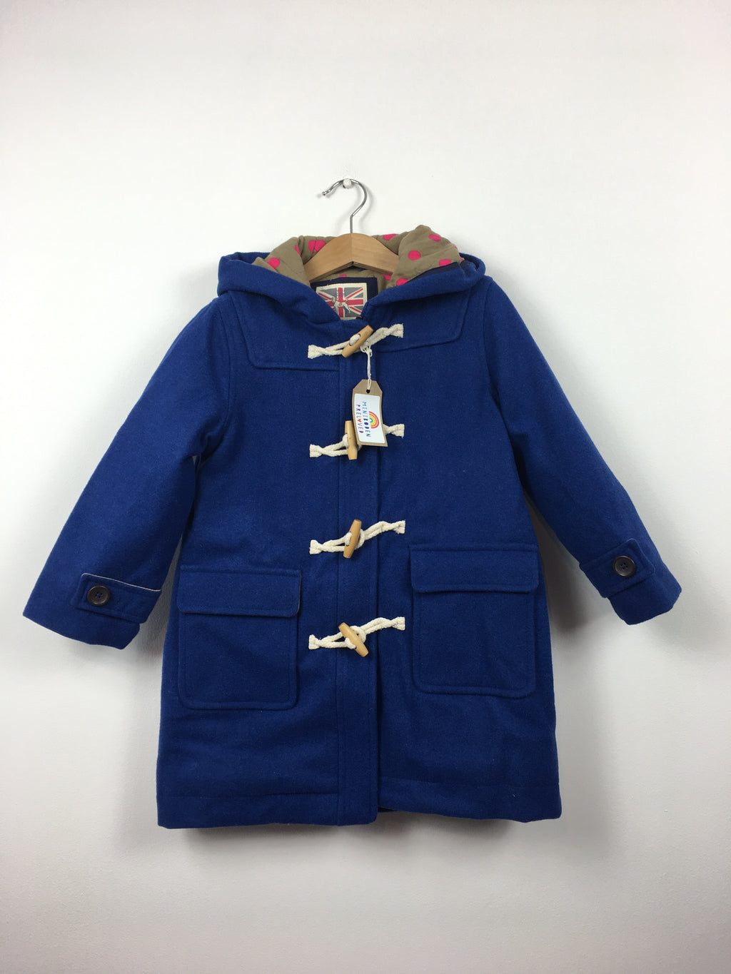 Royal Blue Duffle Coat (3-4 Years)