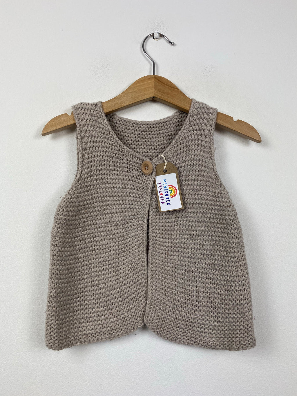 Soft Knitted Gilet (6-12 Months)