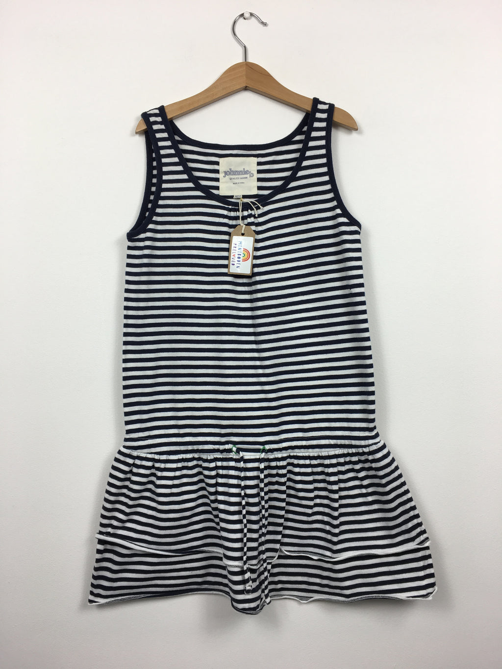 Navy Stripy Sundress (9-10 Years)