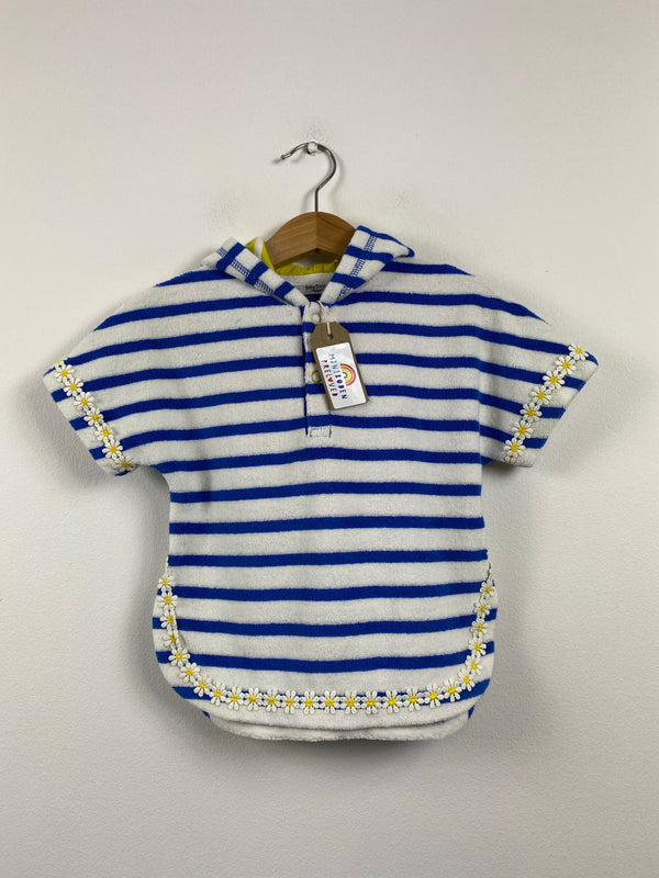 Daisy Design Towelling Cover Up (3-6 Months)