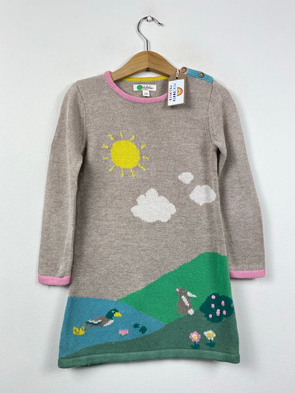 Pond Life Knitted Jumper Dress (2-3 Years)