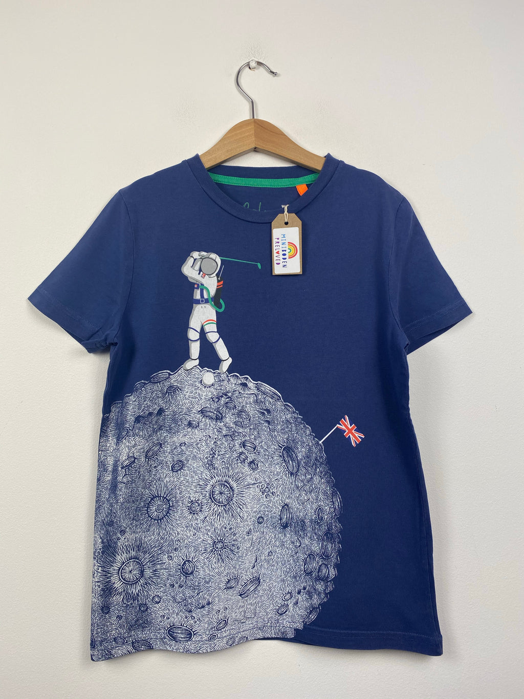 Blue Moon Design Space T-Shirt (9-10 Years)