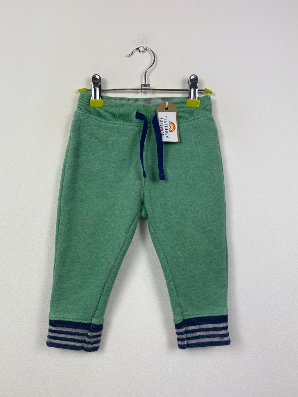 Comfy Sage Green Joggers (6-12 Months)