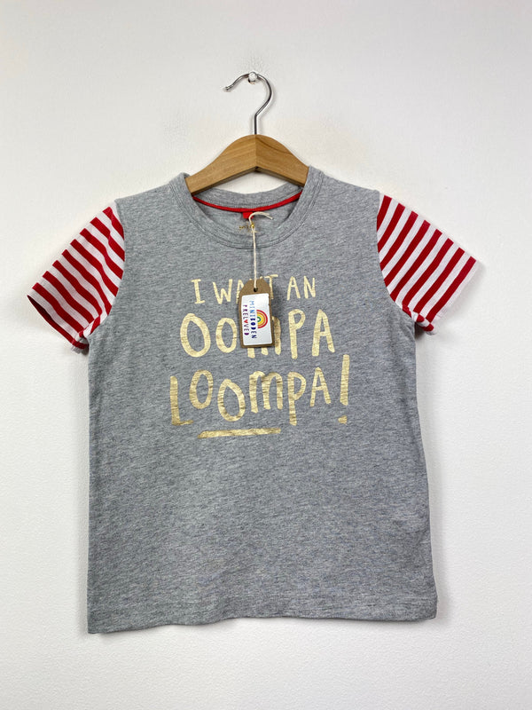 Roald Dahl Oompa Loompa Top (3-4 Years)