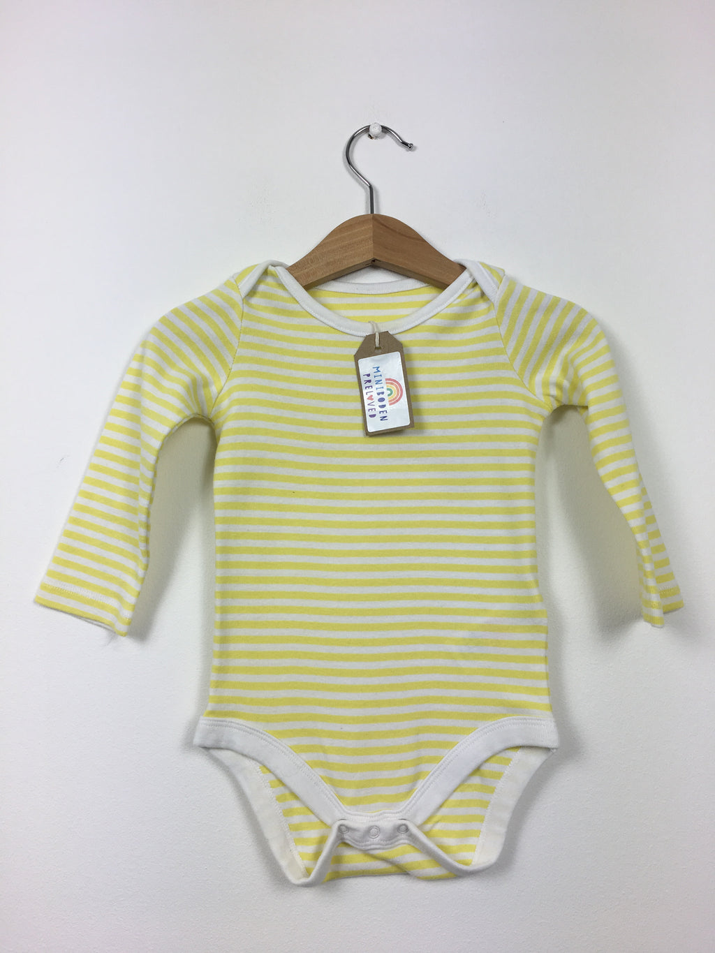 Yellow Stripy Vest (6-12 Months)