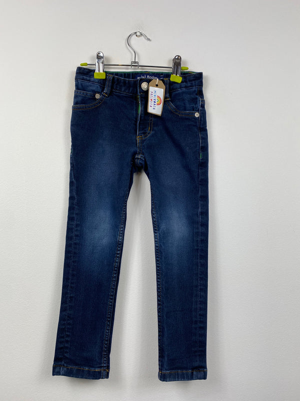 Dark Blue Denim Jeans (4 Years)