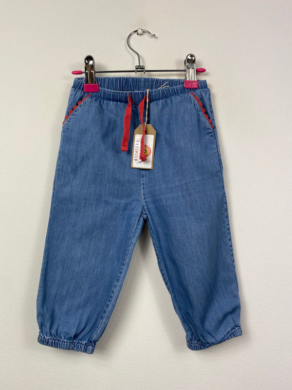 Blue Baby Jeans (12-18 Months)