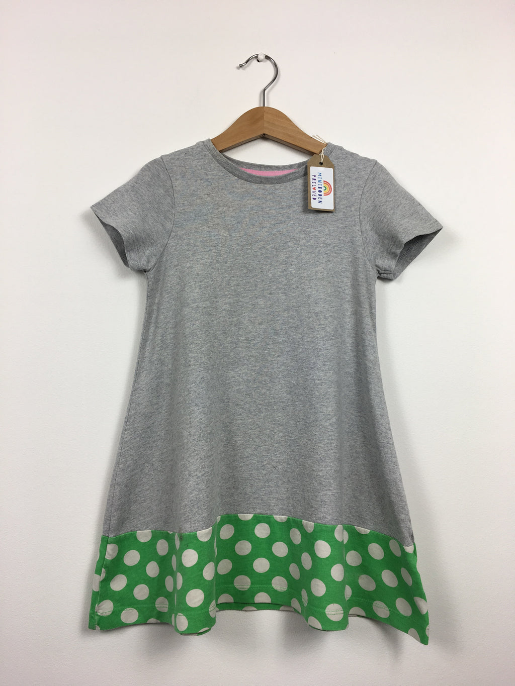 Grey Dress With Spotty Detail (4-5 Years)