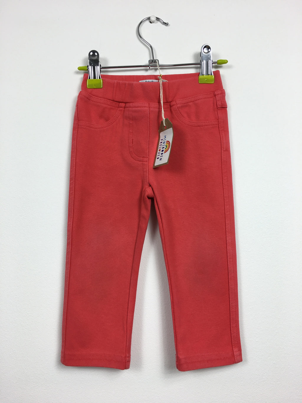 Coral Heart Patch Jeggings (12-18 Months)