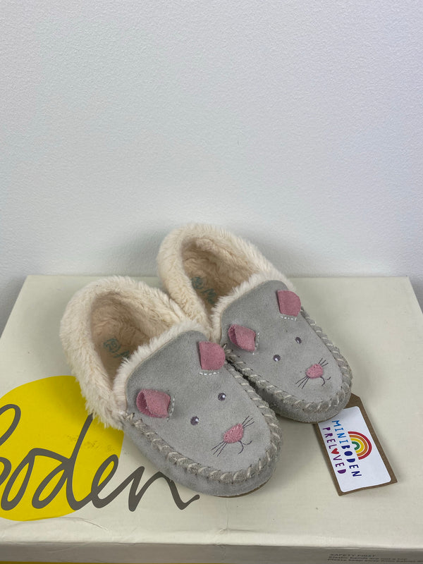 Adorable Grey Mouse Slipper (Size 26)
