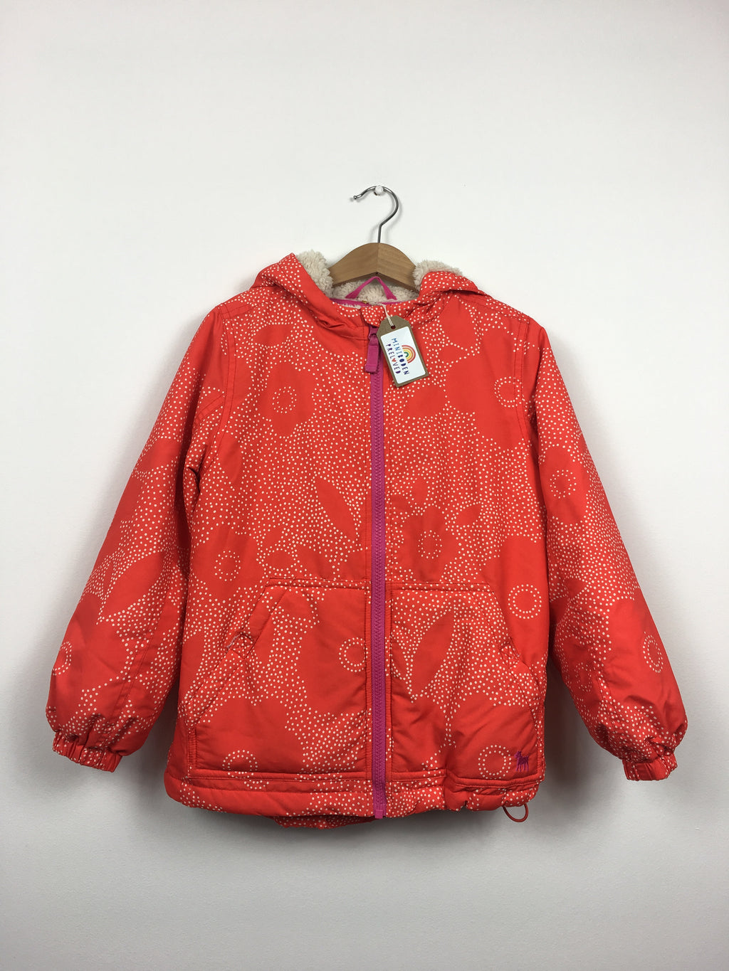 Fleece Lined Red Jacket (7-8 Years)
