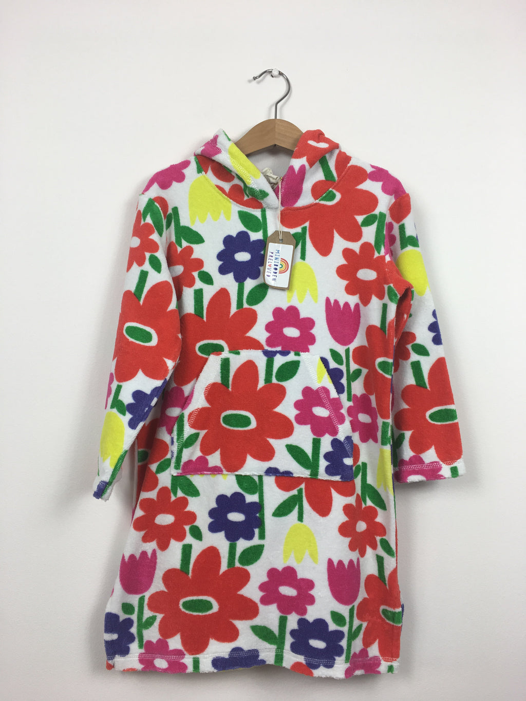 Pretty Floral Towelling Dress (4-5 Years)
