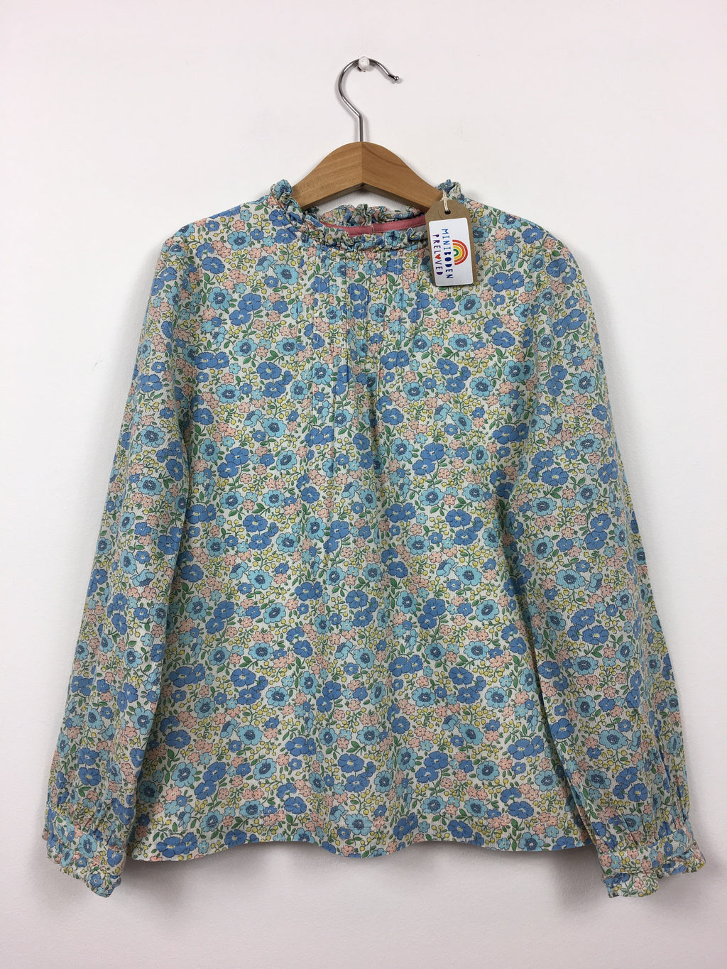 Beautiful Muted Floral Blouse (9-10 Years)
