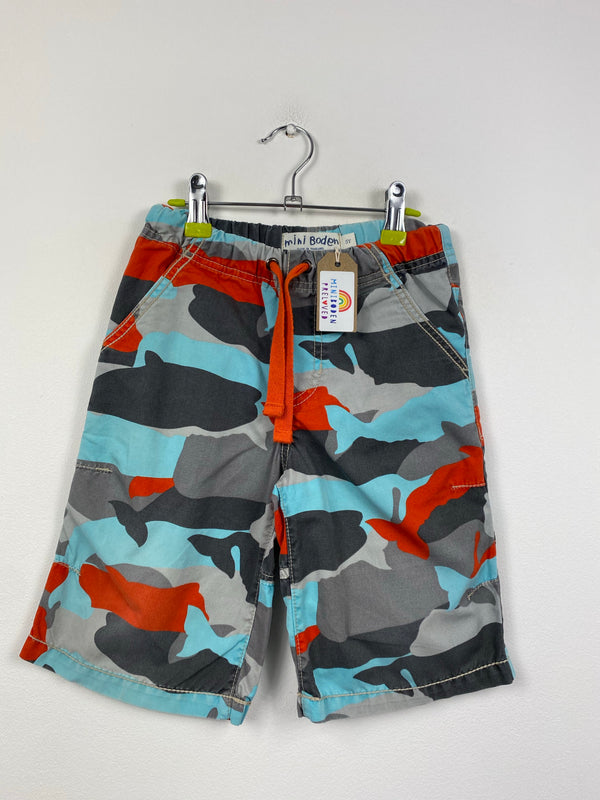 Camo Design Shorts (5 Years)