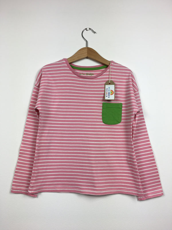 Pink Stripy Everyday Top (5-6 Years)
