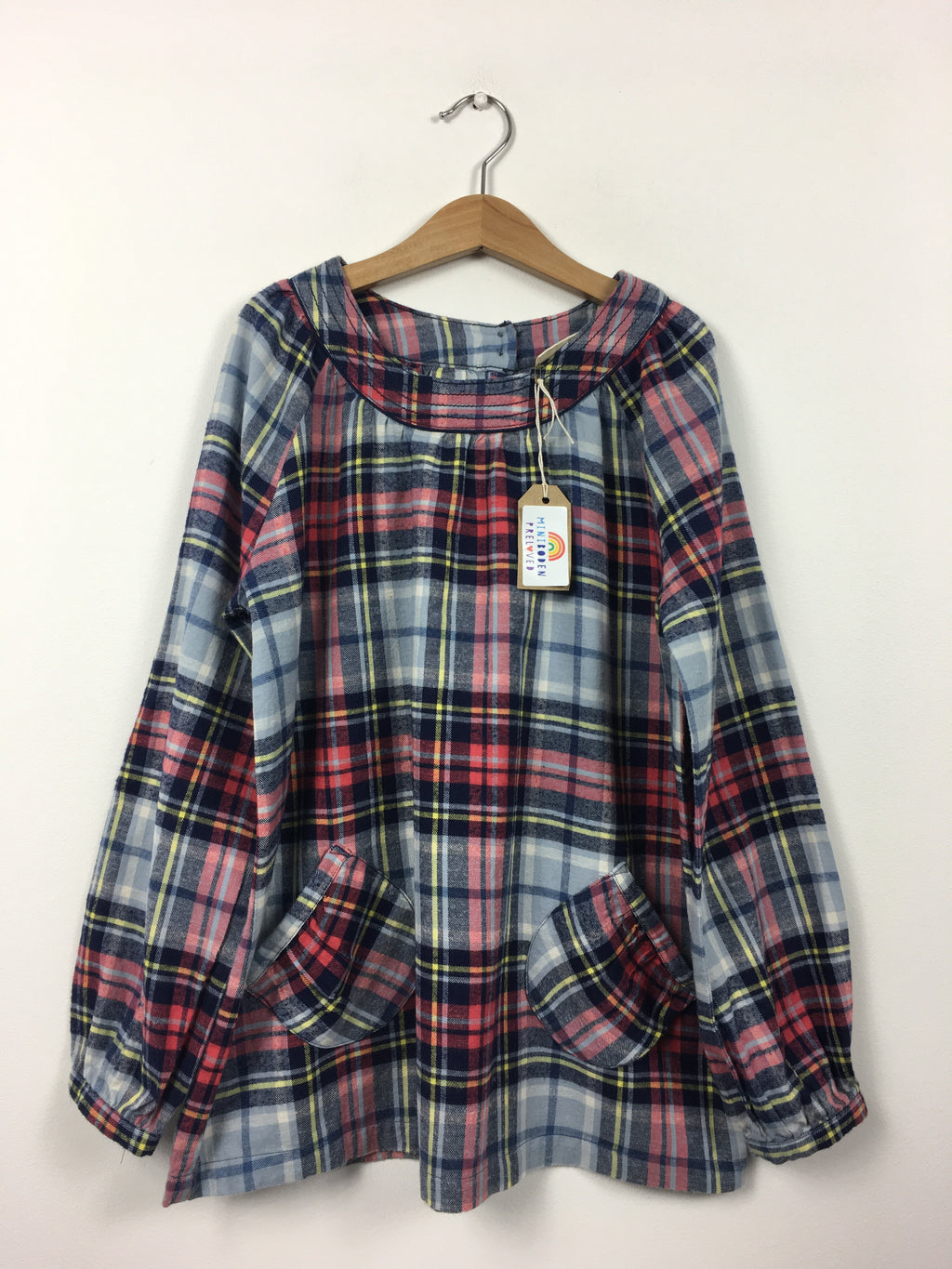 Brushed Cotton Tartan Tunic (9-10 Years)