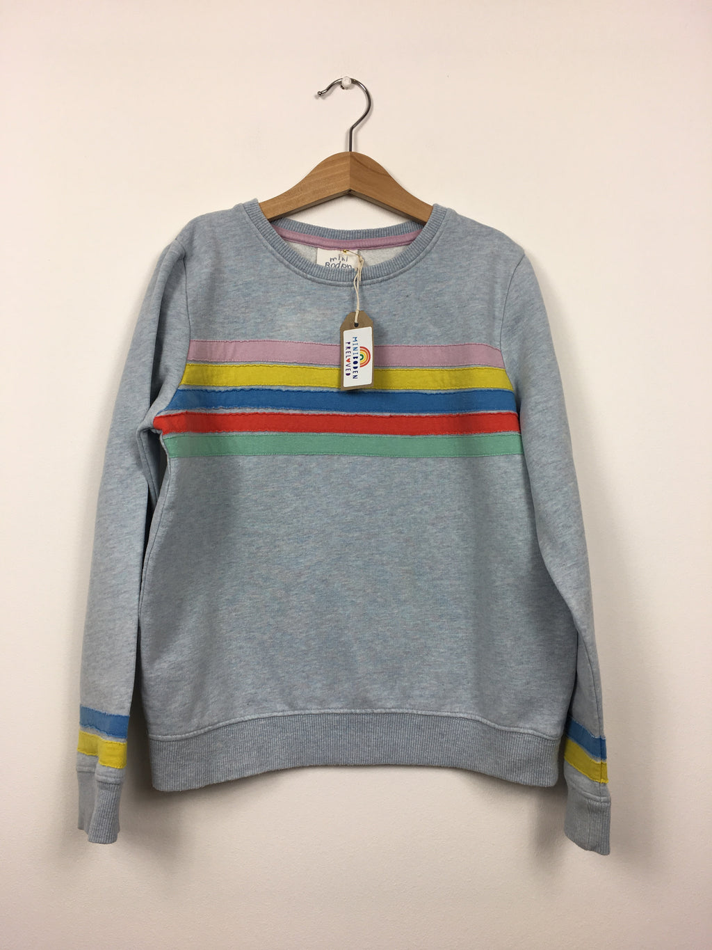 Blue Retro Style Jumper (9-10 Years)