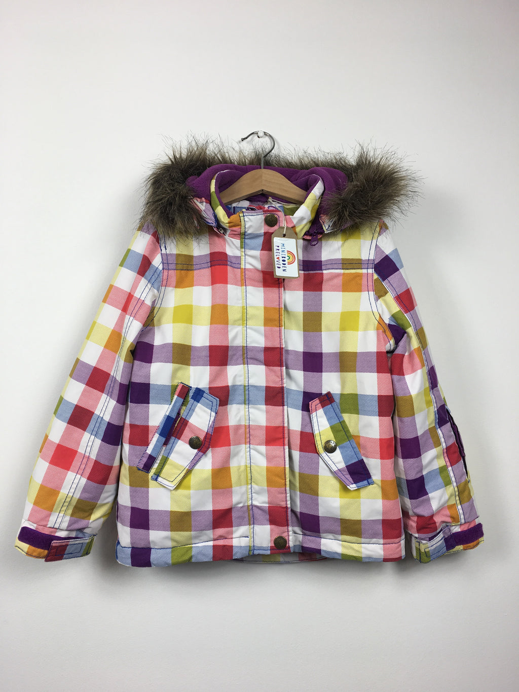 Fabulous Checked Ski Jacket (5-6 Years)