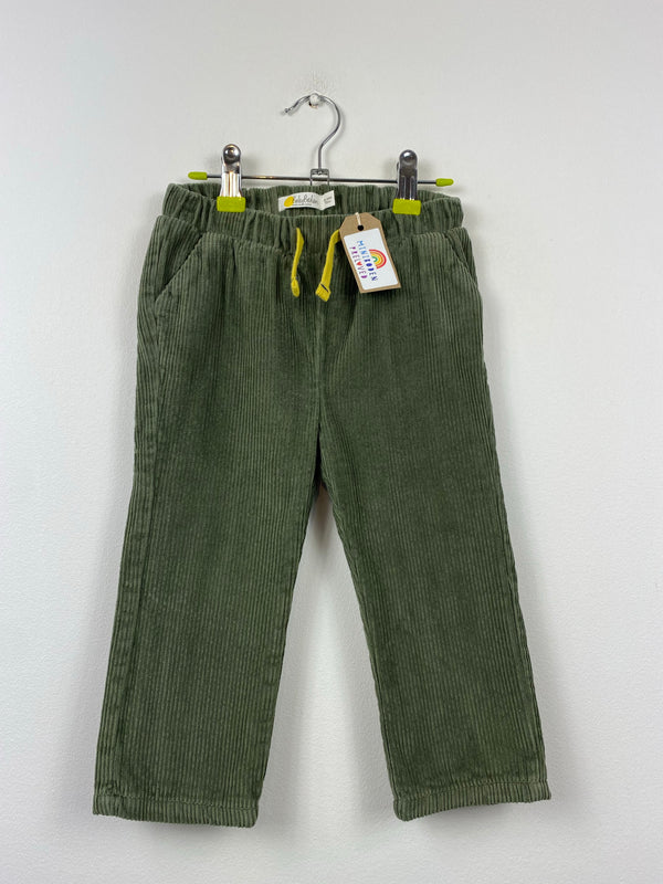 Lined Khaki Cord Trousers (18-24 Months)