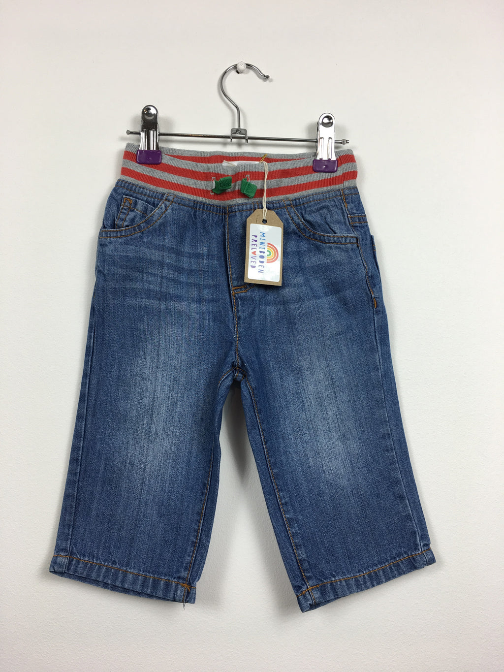 Blue Denim Jeans (6-12 Months)