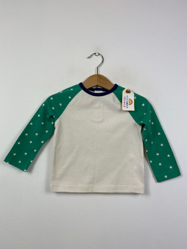 Star Patterned Top (6-12 Months)