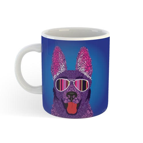 Alsatian - Mug - Art By Catherine Davis