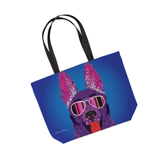 Alsatian - Tote Bag - Art By Catherine Davis