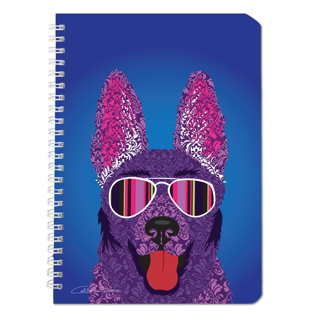 Alsatian - Notebooks - Art By Catherine Davis