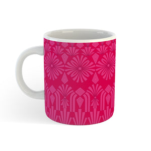Art Deco In Pink - Mug - Art By Catherine Davis