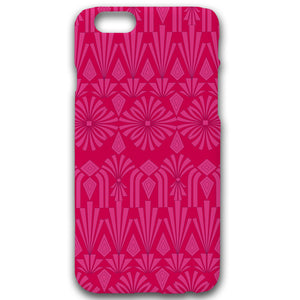 Art Deco In Pink - Phonecase - Art By Catherine Davis