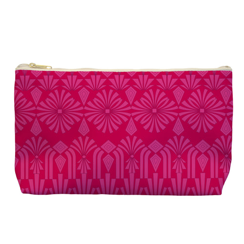 Art Deco In Pink - Cosmetic Bag - Art By Catherine Davis