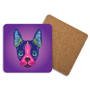 Boston Terrier - Coasters - Art By Catherine Davis